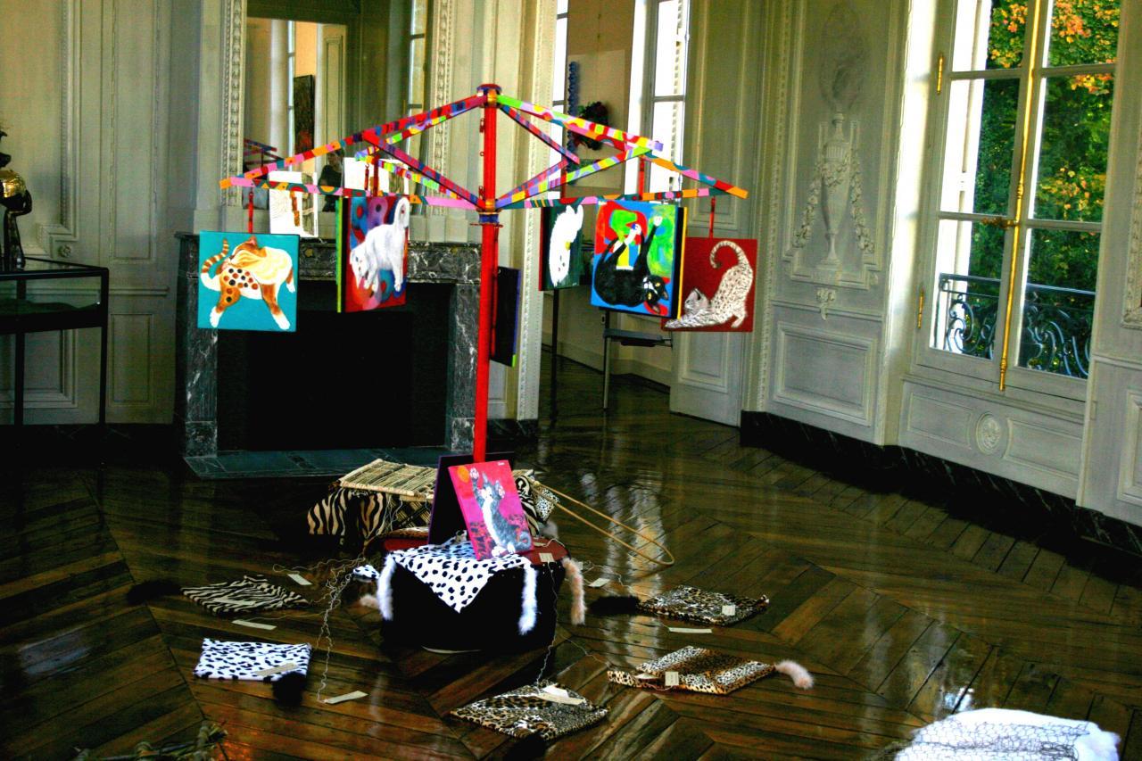 Expo Art'Mu au Château de Courcelles, Montigny-les-Metz