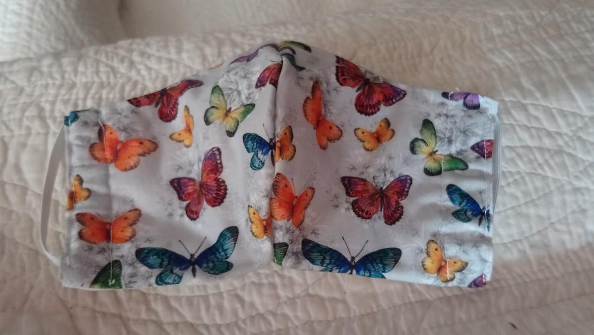 Masque papillons karine
