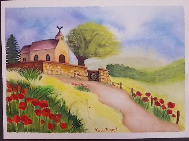 Paysage - Petite église