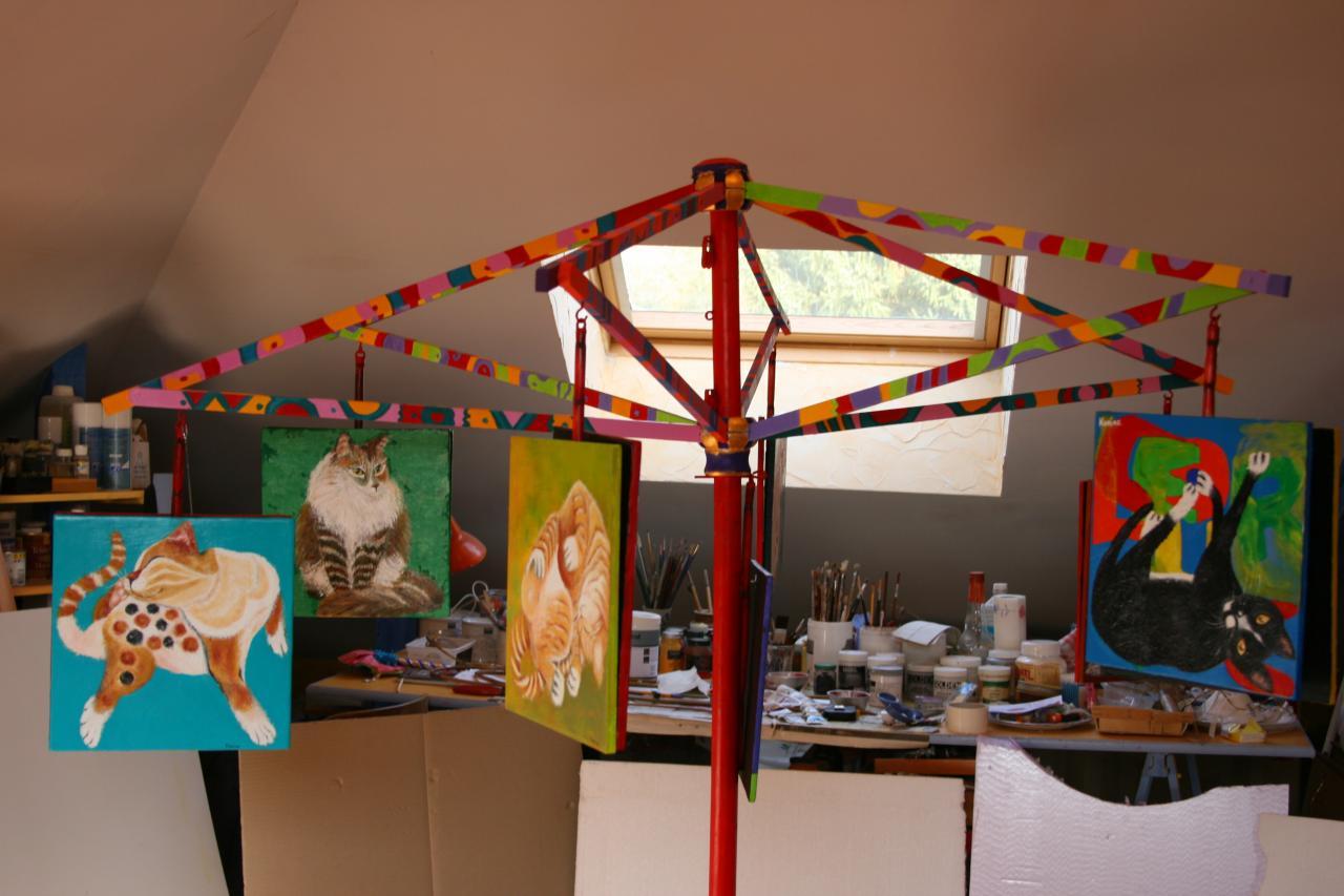 En Atelier : Présentation des tableaux