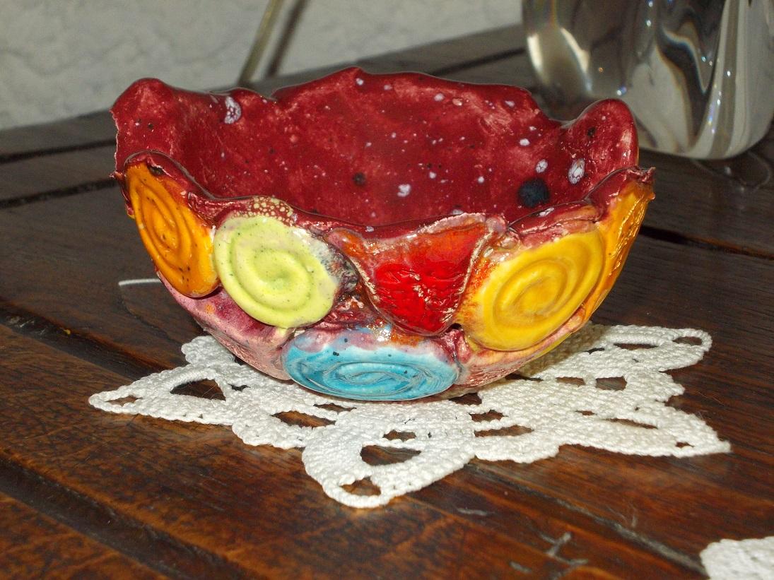 Coupelle rose aux Chats (4)