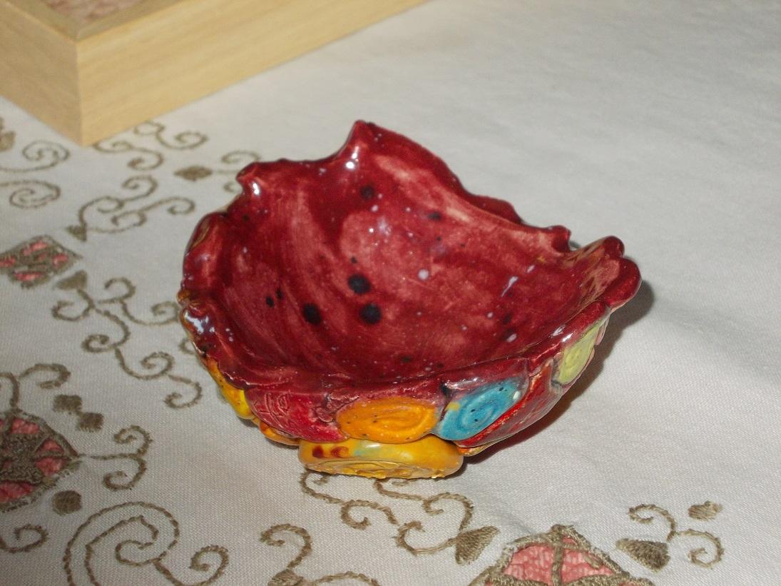 Coupelle rose aux Chats (1)