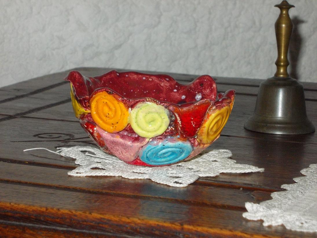 Coupelle rose aux Chats (3)