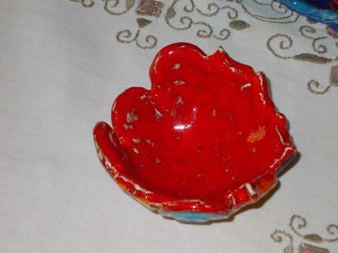 Coupelle rouge aux Chats (3)