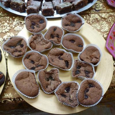 Macarons Marzipan au Chocolat
