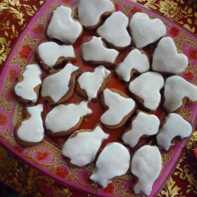 Pain d' épices de Noël parfumés au chocolat