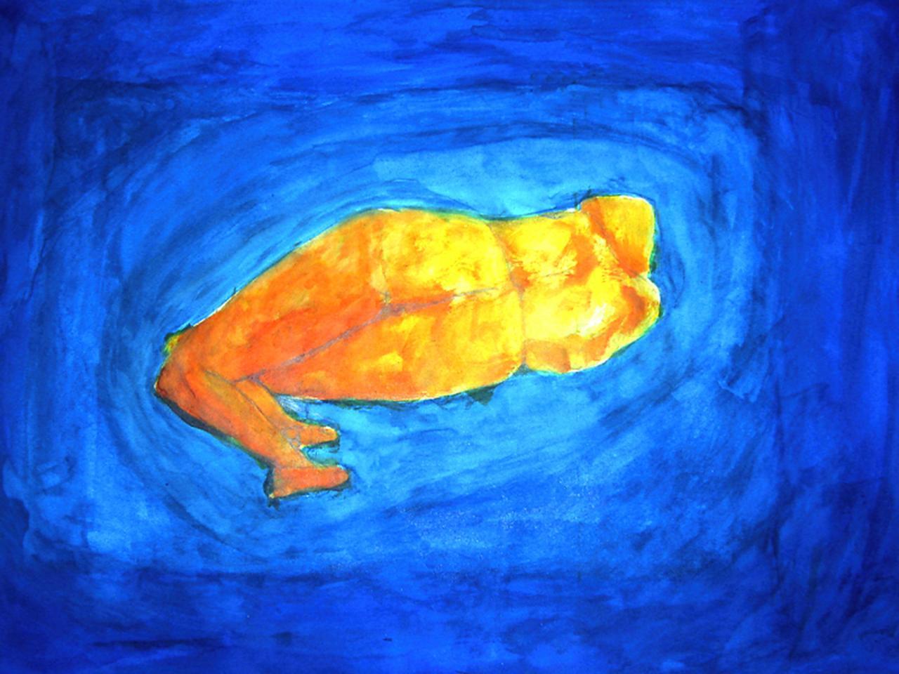 Dessin à l' Aquarelle   ( 50 x 70 cm )