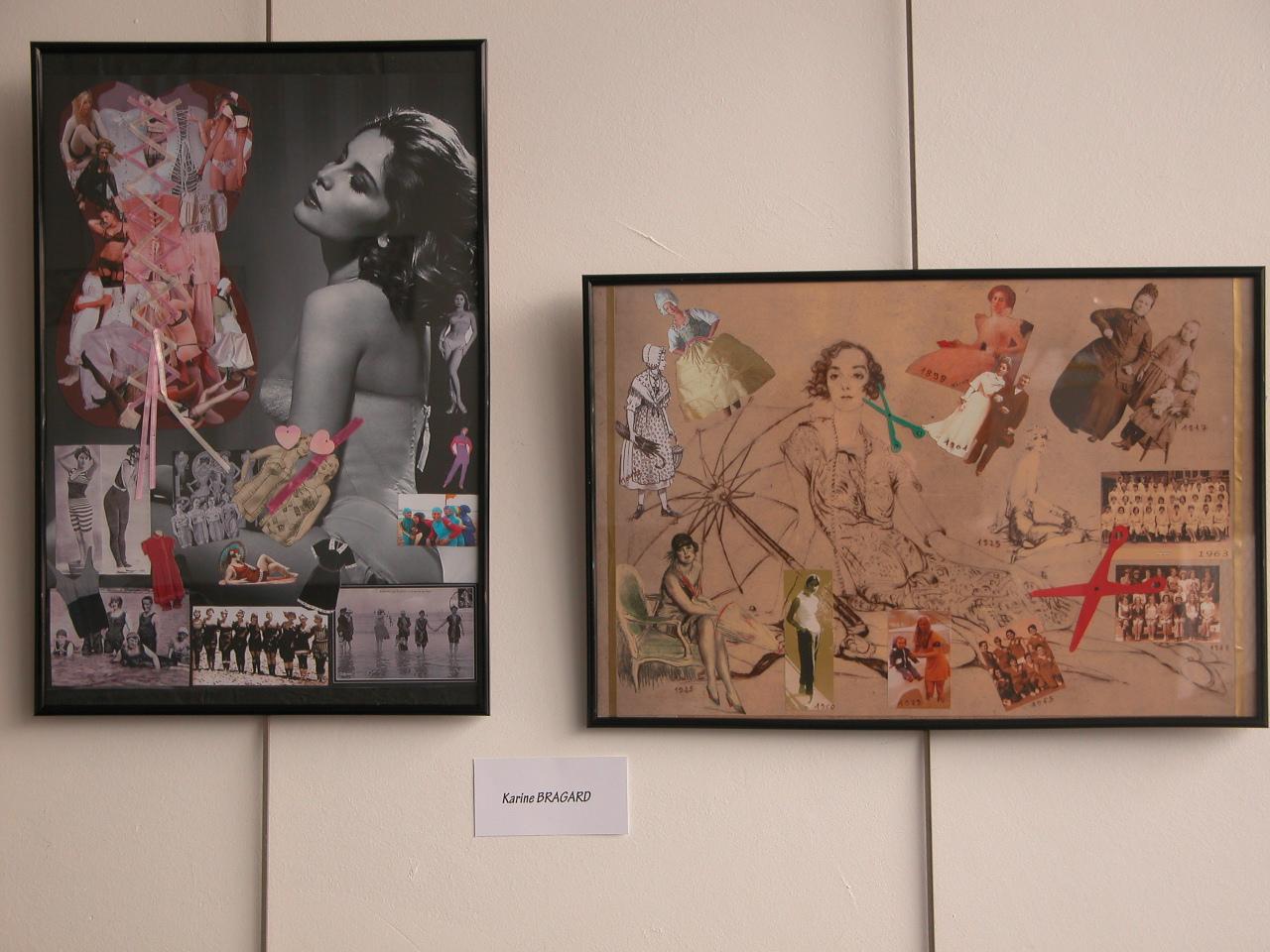 mes 2 tableaux précédents exposés ensemble
