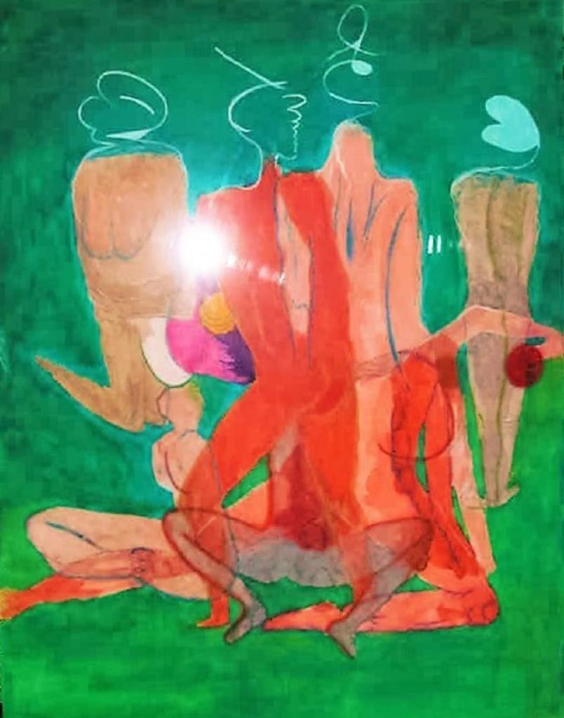 Dessin à l' Aquarelle (2)   ( 50 x 70 cm )