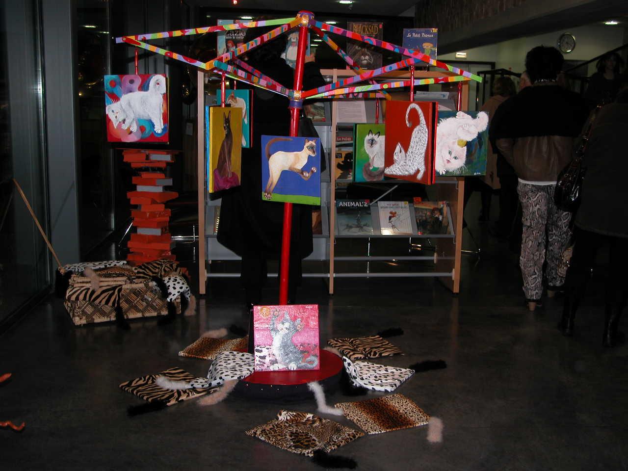 Exposition au Centre Culturel CREANTO de Créhange