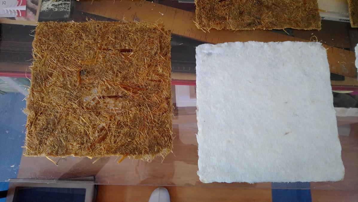 Papiers de Lavande et Papier de Lin blanchi