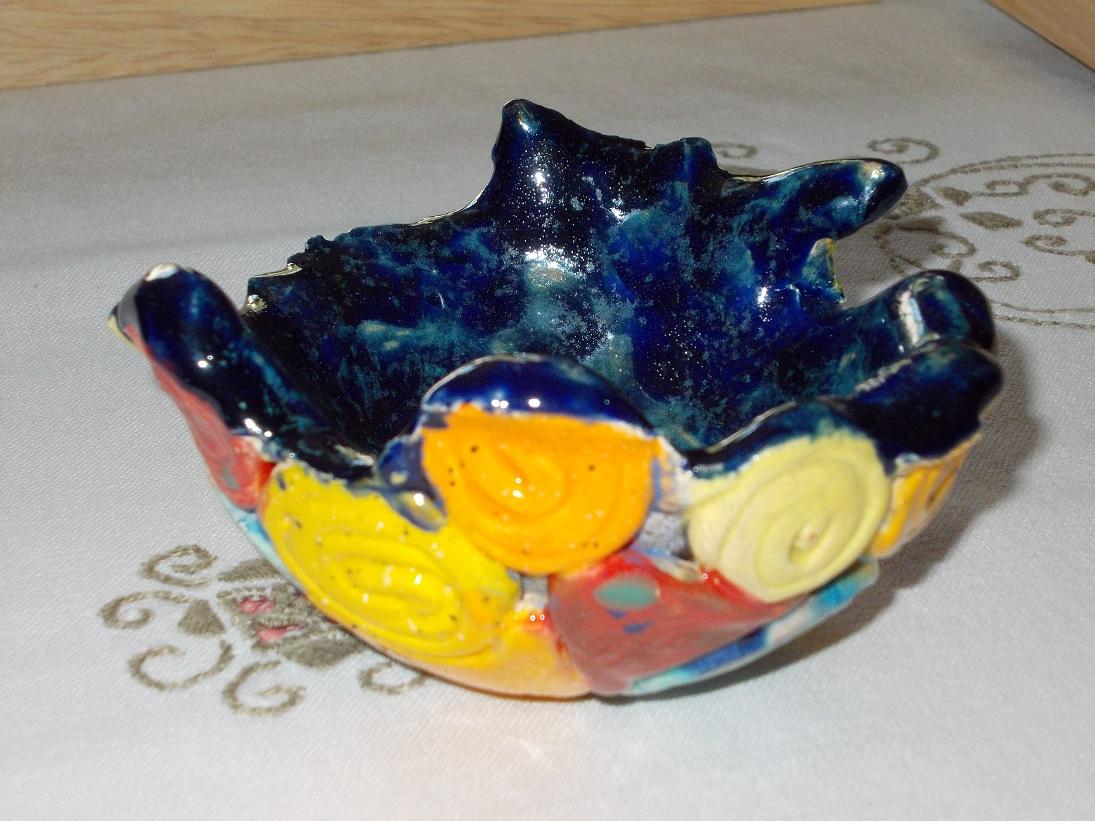 Coupelle bleue nuit aux Chats (4)