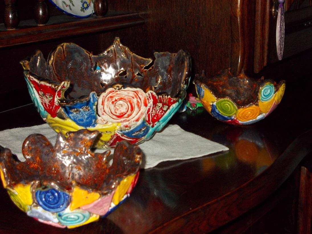 Vases ambrés aux Chats (1)