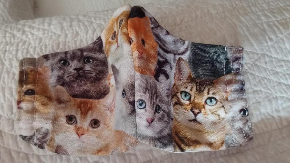 Masque chats visages karine